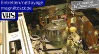 Nettoyer les têtes de son magnétoscope VHS by Réparations appareils VHS